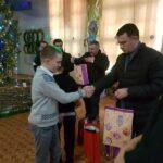 Представители Сбербанка поздравили с Новым годом